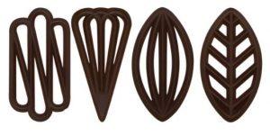 czekoladowe ozdoby